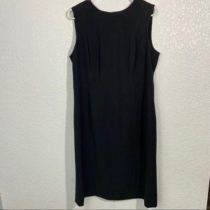 Calvin Klein NWT Career Work Dress Black 14P